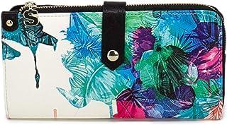 aa7ee279110 Desigual - Grand portefeuille ethnique imprimé floral femme simili cuir Isola  Ester (19sayp54) taille
