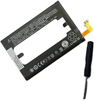 Powerforlaptop replacement internal battery for HTC One E8,M8,M8d,M8E,M8E Eye,M8Et Eye,M8Ew Eye,M8Ew Eye Dual SIM,M8St,M8t,M8w,W8 35H00214-01M B0P6B100 1ICP4/64/95 with opening repair tool kit