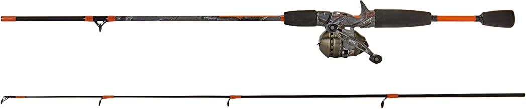 Zebco 33 Micro Camo Ultra Light Spincast Combo (2-Piece), 5-Feet