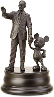 Mickey Mouse and Walt Disney bronze statue Figure
