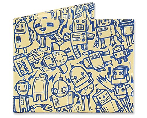 Mighty Wallet Men's All of The Robots, One Size