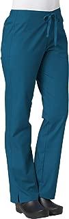 Maevn Women's Half Elastic Pant(Caribbean Blue, Medium)