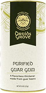 Druids Grove Purified Guar Gum ☮ Vegan ⊘ Non-GMO ❤ Gluten-Free ✡ OU Kosher Certified - 8 oz.
