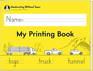 Learning Without Tears - My Printing Book Student Workbook, Current Edition - Handwriting Without Tears Series - 1st Grade Writing Book - Letters, Language Arts Lessons - for School or Home Use