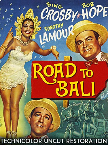 Road To Bali - Bing Crosby, Bob Hope, Dorothy Lamour, Technicolor Uncut Restoration