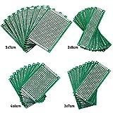 washati perforada de circuito impreso–Agujeros placas de doble cara, Set, 40