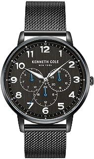 كينيث كول ساعة للرجال كواترز انالوج بعقارب وبسوار ستانلس ستيل KC50801001