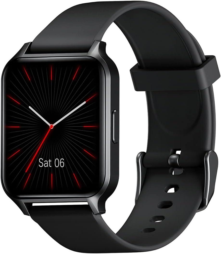 TouchElex Smart Watch for Android Phones and iOSCompatible iPhone SamsungMen Women 1.52″HD ScreenOxygen MonitorHeart Rate MonitorIP68…