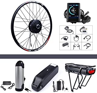 "Bafang Rear Wheel 500W 48V Hub Motor Electric Bike Conversion Kit for Kinds of Bicycles 20"" 26"" 27.5"" 700C Rear Wheel Ebike"
