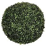 PEGANE Boule de buis Artificielle Coloris Vert en Polyéthylène - Dim : 40 cm