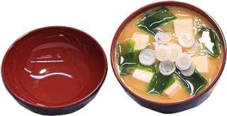 食品サンプル 展示用 味噌汁 わかめ ねぎ 豆腐 蓋付き 店舗用品 日本製