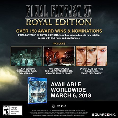 FINAL FANTASY XV ROYAL EDITION Playstation 4 - 1