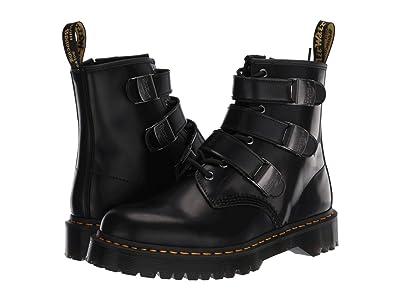 Dr. Martens 1460 Fenimore Bex Moto (Black) Shoes