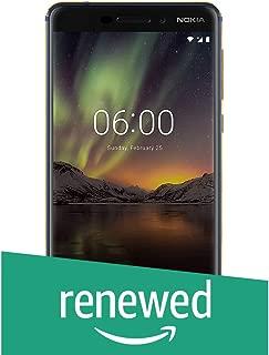 (Renewed) Nokia 6.1 (2018) (4GB + 64GB, Blue-Gold)