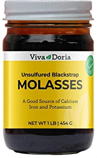 Viva Doria All Natural Unsulfured Blackstrap Molasses, 1 lb (16 Ounce)