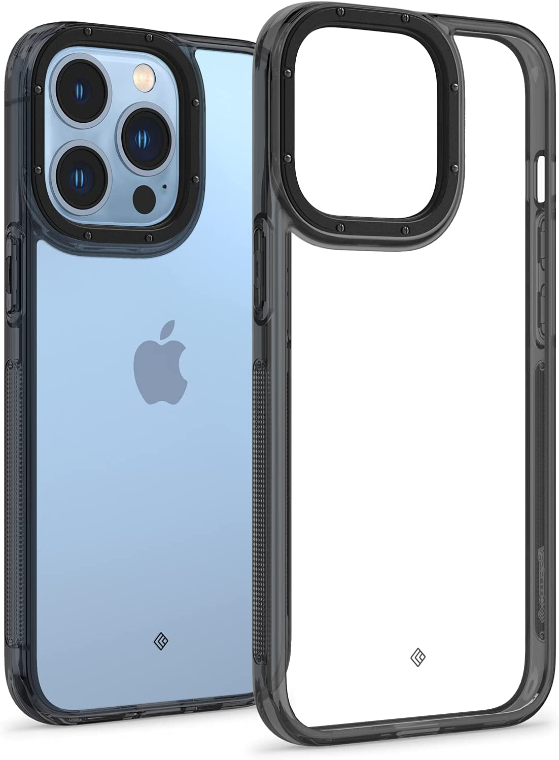 Caseology Skyfall Clear Case Compatible with iPhone 13 Pro Case (2021) - Royal Black