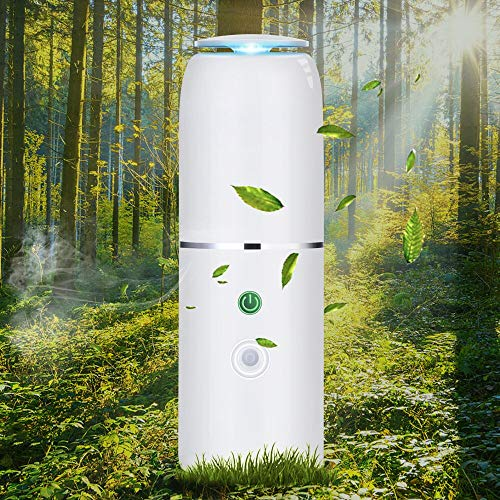 AMZTOLIFE Pluggable Air Purifier & Sanitizer Ozone Negative Ion, Aromatherapy Diffuser Multi-Function, Deodorizer for Odor from Pets, Toilet Smell, Freshener for Small Rooms