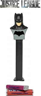 Pez Candy DC Justice League Batman: Dispenser with 2 Candy Packs