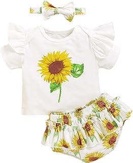 Dot Brevi Vestidos Veranos Set 2 piezas Baby Girl Floral Backless Pelele Top Nappa