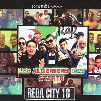 REDA City 16, Les Algériens des Starts