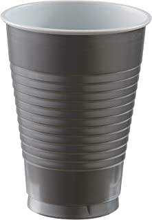 Silver Plastic Cups Party Pack 355ml - 20 Pcs