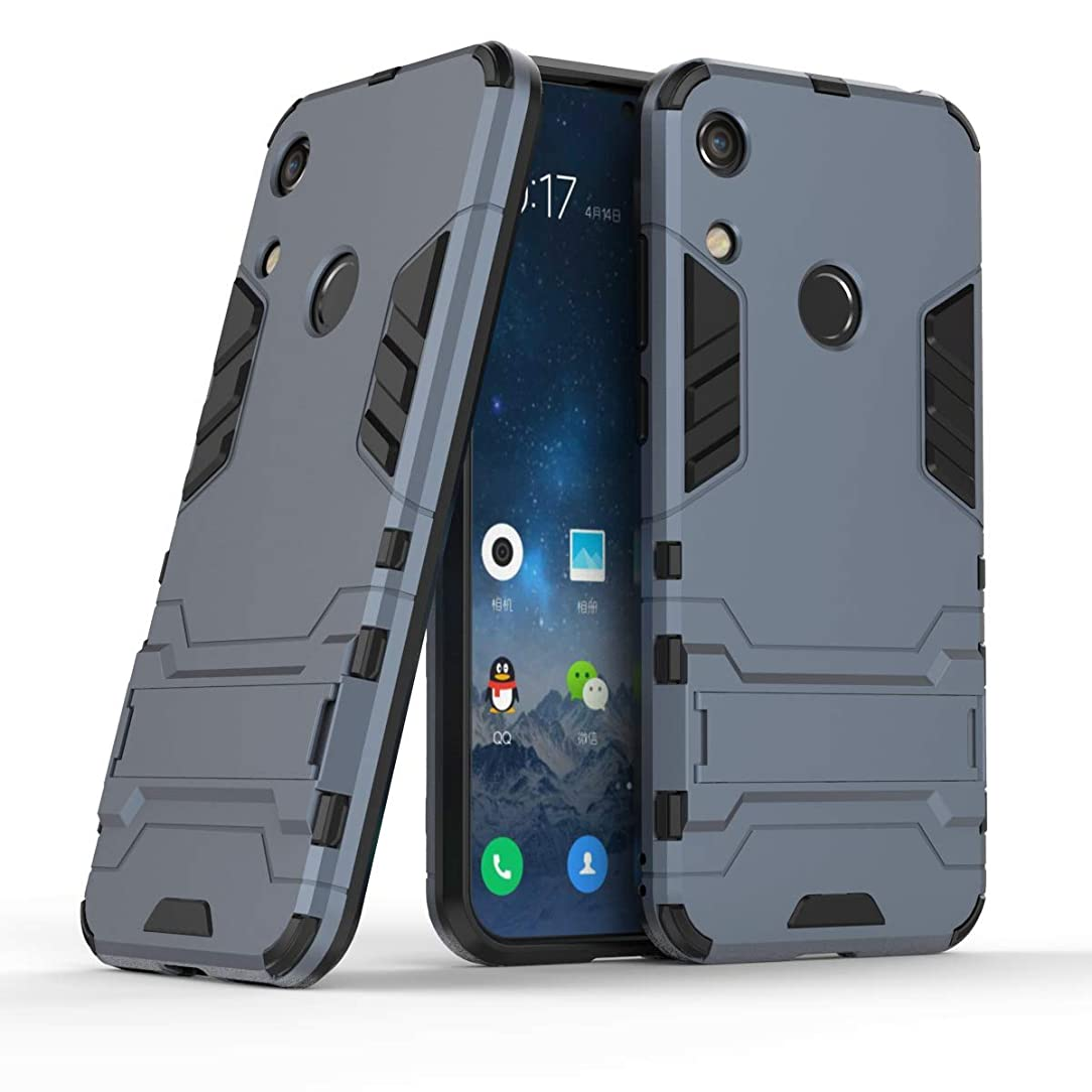 Huawei Y6 2019 / Honor 8A Case, CaseExpert Shockproof Rugged Impact Armor Slim Hybrid Kickstand Protective Cover Case for Huawei Y6 Pro 2019 / Honor 8A