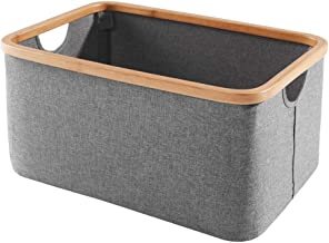 Special/Simple Fabric Folding Storage Basket, Hamper Folding Bathroom Dirty Clothes Toy Snack Storage Basket