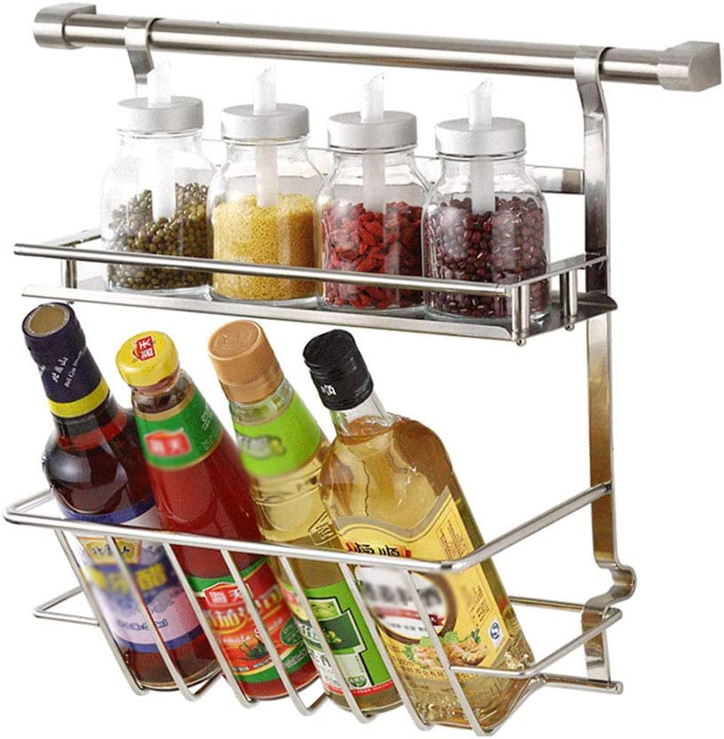 GAIXIA Wall Mount Tampa Mall Spice Rack Organizer Stor for Tier 2 Seasoning Brand Cheap Sale Venue