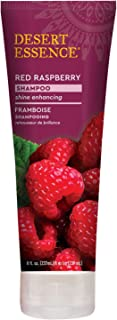 Desert Essence Red Raspberry Shampoo - 8 Fl Ounce - Gloss & Shine Enhancing - Strengthens Hair - Removes Everyday Pollutan...
