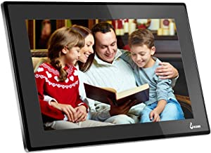 BSIMB 15.6 Inch WiFi Cloud Digital Photo Frame Digital Picture Frame Full HD 1920x1080 IPS Touch Screen 8GB Storage Share Photos and Videos from Smartphone App Twitter Facebook Email(W02) Black
