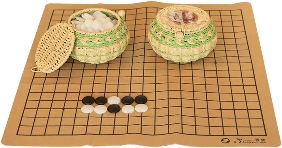 Max 78% Max 79% OFF OFF Weiqi Games Go Game Set with Glaze Stones Colored Single Convex