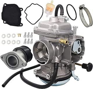 Carburetor For Yamaha YFM250 YFM250X BearTracker ATV 1999-2004 Carb Replace 4XE-14140-13-00 4XE-14140-11-00 with Intake Manifold