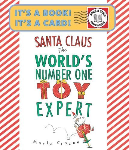 Santa Claus the World's Number One Toy Expert Send-A-Story by Frazee, Marla (October 25, 2011) Paperback
