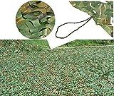 WY-camo 3X5m Cubierta de Red Militar de Camuflaje de la Jungla, Red de Decoración de Fiesta de Guerra para Niños Nerf Red de Protección Solar de Lona de Bosque para Acampar Caza Ligero y Duradero