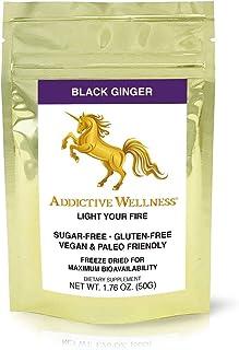 Addictive Wellness Thai Black Ginger Freeze Dried Powder Kaempferia Parviflora Thai Ginseng