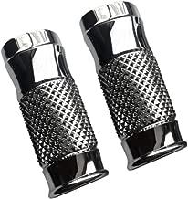 Eddie Trotta Designs Fork Slider Covers - Cross-Cut Chrome (+2in.) TC964