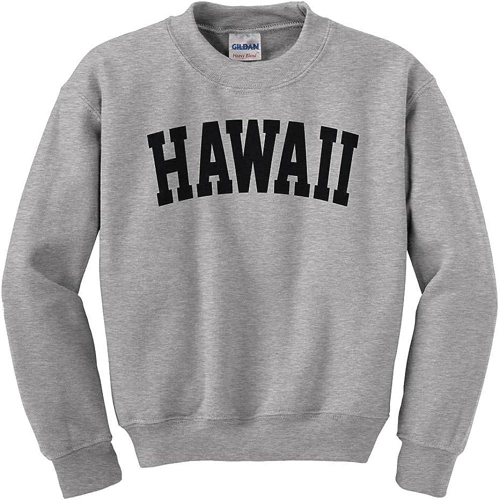 Hawaii 2021 new College Style Kids Youth Sweatshirt Denver Mall
