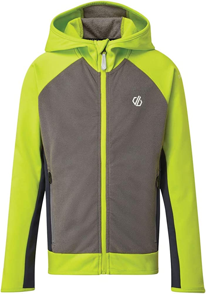 Dare 2b Boys Twofold Core Stretch Full Zip Hooded Jacket