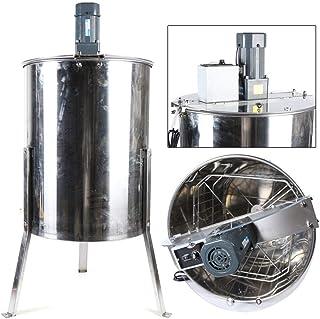 Honigschleuder Edelstahl Elektrische Honigschleuder 4 Rahmen Waben Honig Imker Schleuder Honey Extractor Bienenzüchter Zubehör 120W