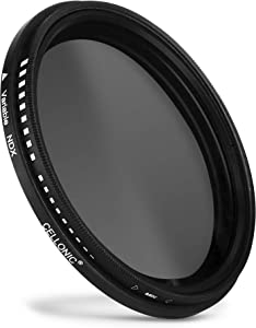 CELLONIC   Adjustable Neutral-density Filter ND2-400 compatible with P...