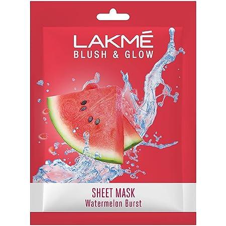 Lakmé Blush & Glow Watermelon Sheet Mask, 25 ml