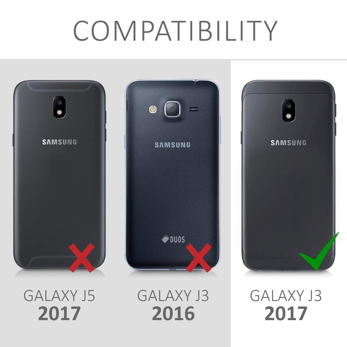 kwmobile Funda Compatible con Samsung Galaxy J3 (2017) DUOS: Amazon.es: Electrónica