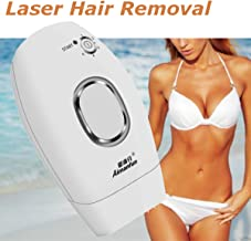 Painless Permanent IPL Laser, Luckyfine Hair Removal Device Whiten Skin Acne Repair 300000 Flashes Professional Light Epilator 3 IN 1 Machine 5 Levels Home Use Face Body Personal Care