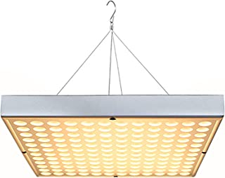 LED Grow Light for Indoor Plants, Upgrade 75W Sunlike Full Spectrum Grow Lamp 144 LEDs Panel Plant Light for Succulent, Bonsai, Hydroponics Flower, Vegetable Growing, Grow Tent, Indoor Greenhouses
