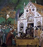 Giotto Di Bondone Legend of St Francis: 23. St. Francis Mourned by St. Clare (Upper Church, San Francesco, Assisi) - 20