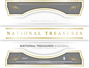 panini national treasures baseball 2018