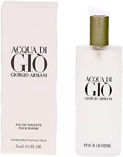 Giorgio Armani Acqua Di Gio For Men Eau De Toilette spray, 0.5 Ounce