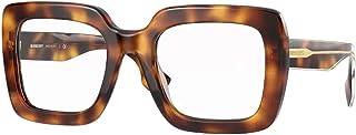 نظارات شمسية نسائية ماركة Burberry STRIPED CHECK BE 4284 Havana/Clear 52/22/140