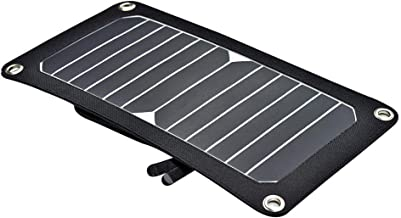 Solar Charger,7W Portable Solar Panel Foldable High Efficiency Output Charger for Laptop Tablet GPS iPhone iPad by EREMOKI
