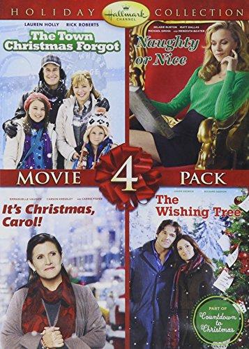 Hallmark Holiday Collection #3 (Town that Christmas Forgot/Naughty or Nice/It's Christmas, Carol!/The Wishing Tree)